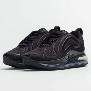 NIKE Air Max 720 Black Running Lifestyle Shoes NEW
